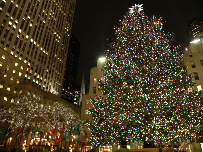 クリスマスシーズンのニューヨーク(2ページ)