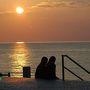 湯殿山の紅葉と日本海夕日ツーリング