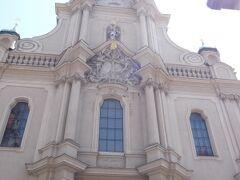 ペーター教会 ミュンヘンで最も古い教会。12世紀後半築。