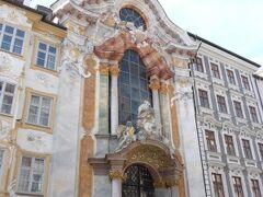 地下鉄で Sendlinger駅へ。 5分 1746年に建てられた教会、バロック様式のフレスコ画家にして建築家の、アザム兄弟によるアザム教会 レーゲンスブルクの聖エメラム教会も、彼等の作品。
