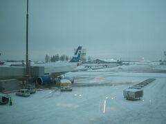 ヘルシンキに着くとこの天気。