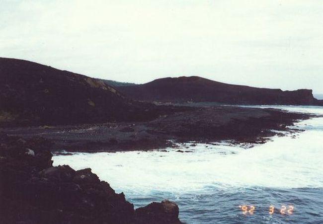 90年代の弾丸離島の旅1992.3  「火山活動度ランクAの島」   ~三宅島・東京~