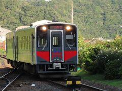2日目は温泉津温泉から出発、6:30山陰本線上り1番列車