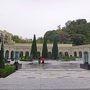 有馬温泉への旅-エクシブ有馬離宮宿泊記 その③ 中庭の風景とBARでちょっと一杯、ボールルーム・ルーナでの朝食編-