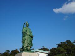 〔(おまけ)蒲郡市街〕  帰路につく途中、時間が(微妙に)余ったので、ついでに蒲郡の有名スポットである竹島を見てみることに。