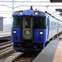 『オホーツク号』は、札幌と網走を結ぶ特急列車。 山岳地帯を走るので、景色はなかなか良いのだが、所要時間が5時間半近く掛かるのが痛い。 今回は、途中の旭川駅から美幌駅までなので、乗車時間は3時間20分ほどだ。