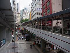 今回の香港旅行のメインテーマは、何度も来ているのに一度も見ていないシンフォニーオブライツ。そして、第二のテーマがこれ。  世界最長のエスカレーターです。