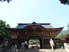 岩室に来たからには弥彦にも寄らねばとのことで、数年振りの弥彦神社です。