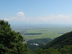 新潟平野も一望です。
