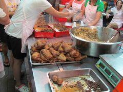 林合發油飯粿店 ここは午前で売り切ってしまうので、前もって高鐵で食べる弁当を買っておく。