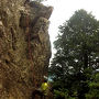 京都クライマーの聖地 金毘羅ロックゲレンデで『ロッククライミング』