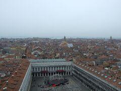 ヴェネチア 塔からの町並み