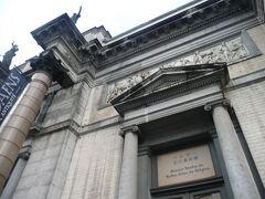 ベルギー王立美術館  日本語の表記が!ベルギーは親日国でしたね。