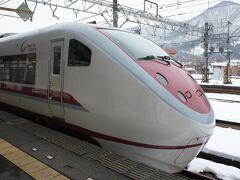 越後湯沢駅で特急はくたか号に乗換えて、ほくほく線経由で金沢へ