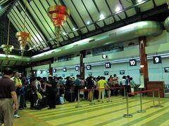 空港に到着すると、大韓航空は既に長蛇の列が。