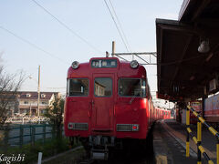 名鉄三河線の始発6:09に乗って碧南駅へ