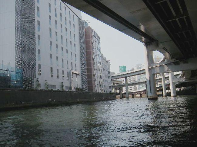 60ba2e4ab85 川面から何でも見てやろう!手漕ぎボートでお江戸日本橋探勝(亀島川 ...