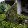 6時34分に名古屋駅を出発した中央線の中津川行きで終点まで。ここまで来るとちょっと遠くまで来たなという気分になります。駅の中には「これより北 木曽路」の石碑が、これまで盆地のような地形を通っていたのがここから先は一気に深い山の中へと入っていきます。