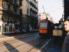 ナポリの路面電車