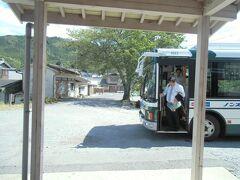 名松線代行バスの旅を終えて、家城駅まで戻ってきました。