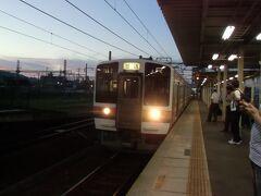 関西本線で帰りましょうか。同行のF氏は奈良在住だしね。