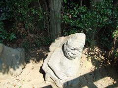 猿石(奈良県明日香村)