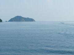竹生島(ちくぶしま)に向かってゆきました。