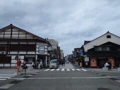 垂水の滝のあと、塩田を通り過ぎ、輪島の朝市へ。 っってすでに昼でした。