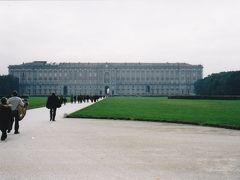 カゼルタ宮殿 庭がとても広く、延々と3キロ先まで続いている。次回は先まで行ってみたい。
