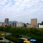 泊まっていたユースホステルはすすきのから豊平川を挟んだ反対側。朝は6時過ぎに起きましたがまだ出発するには早いからと豊平川を渡って中島公園へ向かいます、地下鉄の駅名にもあるので存在は知っていましたが中に入るのは初めて。