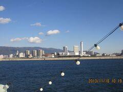 天気もよく神戸の町並みがよく見えた。