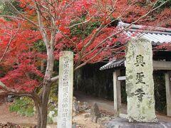 宇治神社を通り、観流橋を渡ると、 今日の目的地、興聖寺の山門に到着です。