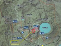 高速道路の札幌から登別東ICまで約1時間。 そこから北へ6km行くと登別温泉です。