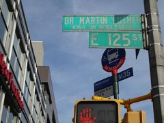 地下鉄を出ると通りにはキング牧師の名前が付けられている