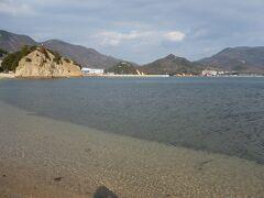 小豆島最後の訪問先は、ロマンティックなスポット。 エンジェルロード 天使の散歩道。