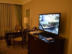 雰囲気がこれまでのホテルと比べて高級だ。