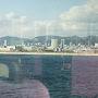 ●ポートライナーから  ポートアイランドが見えます。 人工の島とは思えないくらい、建物が建っています。