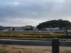 今回の明日香村訪問では橘寺は時間の都合で横をスルー。