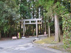 熊野本宮の裏口?です。