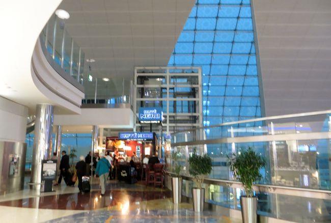 2014早春、南フランス等・4ヵ国巡り(2):2月26日(1):ドバイからスペインのバルセロナ国際空港へ