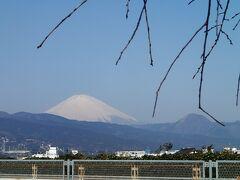 今回は海老名で休憩ではなくあまりに富士山がきれいに見えていたので、距離的に一番近いここ小田原PAで休憩をとった。 とても気持ち良い富士山が見られた。