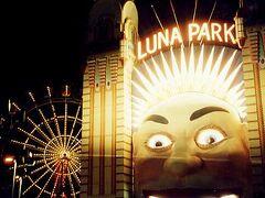 ノース・シドニーにある遊園地、ルナ・パーク。