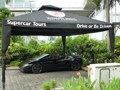同じくシンガポールフライヤーにある、「Ultimate Drive」 フェラーリやランボルギーニを貸してくれるそうです。 国際免許の手続きに行く時間がなかったので、今回はパスしました。