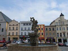 ジュピターの噴水(Jupiter Fountain)とドルニー広場
