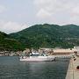 進水式から4ヶ月、デビューしたばかりの宇和島運輸フェリーあかつき丸に乗りに行こう(その3、内子の町並みから下灘駅を通って松山空港へ)