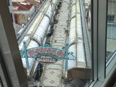 階下には新世界商店街