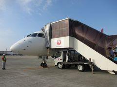 大阪伊丹空港から 小さなジェット機に乗って