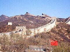 """自分にとって、中国と聞いて最初にイメージするのがこの""""万里の長城""""だった。そこで今回の旅行で北京に行くことを決めたときにすぐに、ここだけは絶対に訪れようと決めた。"""