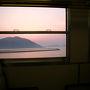 2月に生口島での進水式を見に行ったときと同じく昨晩のうちに三原まで移動していたので、今日のスタートは三原から。呉線の電車に乗って一路呉を目指します。