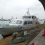 ●関門連絡船@門司港  連絡船で下関に移動します。 所要時間は、約5分。 片道390円です。